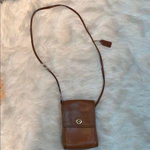 Coach vintage purse brown leather